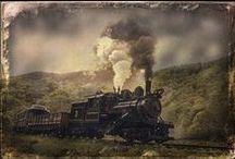 Trains and Tracks / by Kimberly Nicholson