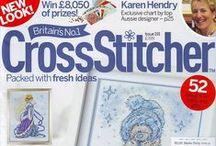 X stitch-books & magazines / by yannie
