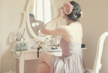 ❥ Perfect Powder Room... / Because every woman needs their own girly room...