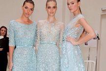 ❥ Haute Couture / Dior. Chanel. Givenchy. Valentino.  Elie Saab. Giorgio Armani. Oscar De La Renta. Chloe.