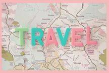 ❥ Wanderlust / A strong desire to travel.