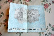 """❥ Okay? Okay. / """"The stars were not at fault and it wasn't 'meant to be'. The fault was in ourselves."""" John Green"""