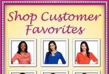 Quacker Customer Favorites / INTRODUCING… An exciting New Feature… Created Just For Quacker! Our 'CUSTOMER FAVORITES' Collection! Every month on our website, we'll share a collection of past Fashion Favorites… so you can simply BROWSE and BUY! Staying in 'QUACKER STYLE'… has never been easier!
