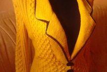 Moje tvorba / Vlastnoručně pletená móda