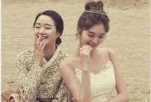 Hanbok + women style
