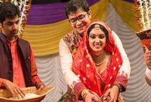 Real Wedding / On this page, read about real Indian wedding stories from real couples and how circumstances and fate conspired to bring them together