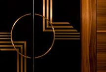Art Deco Interiors / Interior Design and home decor styling inspiration from the late 20s and early 30s Art Deco movement. Think geometric prints, monochrome looks and lots of luxury materials.