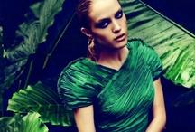 Selected green fashion.
