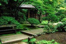 gardens + green