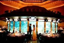 Something Blue <3 / Dreamed of having your special day along Lake Michigan, dancing the night away with the fishes? Take a look at beautiful weddings here at Shedd Aquarium. You can also get inspired to have an aquatic themed wedding wherever you are!