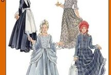 Late 1700s Clothing - DIY Costume & Inspiration / A collection of late 1700s dresses to inspire & guide making a 'Poldark' style dress