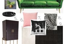 Interior Design Moodboards / A collection of the moodboards I've created for various projects.