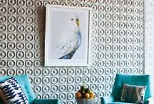 Inspiring Interior Designers / The interior designers that inspire me most. Statement, bold and quirky home styles! Lots of Jonathan Adler, Kelly Wearstler, 2Lovelygays, Martyn Lawrence Bullard and more.