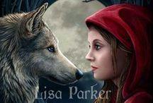 Lisa Parker / Lisa Parker's stunning artwork!