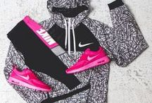Casual, sport outfits / Casual style, Runnig Shoes, Clothing, Sports equipment