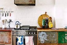 Kitchens / Kitchens with vintage objects