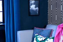 Eclectic Interior Design / Ideas and inspiration on how to bring the eclectic interior design look as applied by the likes of Jonathan Adler, Abigail Ahern and Kelly Wearstler.