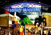 Cairns Shopping / Cairns has a diverse offering of shopping locations from markets, boutiques, souvenirs, duty free and more!