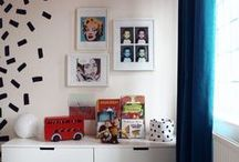 Cool and colourful kids room ideas / This is the board for cool kids room inspo. Forget all the twee, pastel rubbish you normally see, these are big, bold and colourful kids room designs with pattern and attitude that pack punch. Perfect for cool kids all over.