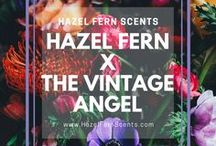 Hazel Fern X The Vintage Angel / These are the perfume oils and solid perfumes that we have created just for Jessica Galbreth at The Vintage Angel.