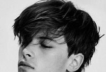 """Angular Fringe Haircut for Men / The angular fringe haircut is a style in which the sides are kept somewhat short and the top is left relatively long. This """"short on the sides, long on top"""" concept is the same one that styles like the undercut and pompadour are based on."""