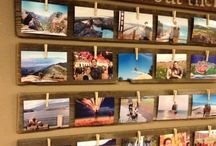 Travel Photos & Souvenir Display Ideas