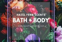 Bath + Body Care / Bath and Body care products by Hazel Fern Scents and also other vintage and antique bath and body preparations from the Victorian and Edwardian eras, France, England, and more. Body butter, lip balm, natural lip balm, body lotions, hand cream, vintage cosmetics, cosmetic preparations