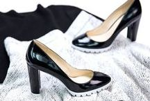 Black & White / Black and white shoes + hues.  / by Nine West
