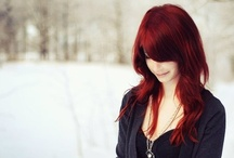 Cheveux Roux / i figured since i have naturally red hair i might as well have a board that features it / by Victoria Laine Clark