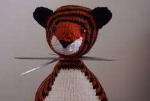 tiger pattern development / development of my tiger pattern / by browneyedbabs (pinterest)