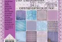 ODBD Christian Faith Paper Collection / http://www.ourdailybreaddesigns.com/index.php/christian-faith-collection-6x6-paper-pad.html