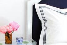 Preppy Interiors / A collection of preppy inspired interiors that are perfect for the classic woman at heart!