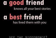 Friendship ☮♡☯ / Un tablero al azar sobre las pocas personas en mi vida que son realmente mis amigos. Ellos saben quienes son! Mis jinetes! ♡ / by April Rhodes