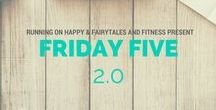 Friday Five 2.0 Link-Up / Friday Five 2.0 Link-Up board. If you'd like to add pins to this board please follow runningonhappy and merandab4 on Pinterest and request to be added! Happy pinning! #FridayFive