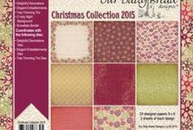 ODBD Christmas Paper Collection 2015 / http://www.ourdailybreaddesigns.com/christmas-collection-2015-6x6-paper-pad.html