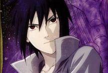 Sasuke Uchiha / Este painel é dedicado á Uchiha Sasuke em suas mais variadas formas de poder e de tempo.