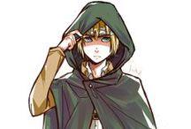 Armin Arlert - Snk / Personagem : Armin Arlert Anime   Mangá : Shingeki no Kyojin Este painel é para o personagem Armin, ele não possui muitas habilidades, mas é muito fofo e merece pins