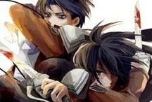 LeviMika :3 / Levi Ackerman x Mikasa Ackerman O par mais forte da humanidade Humanity's Strongest