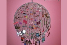 Jewelry Storage Ideas / Ideas how to store Earrings, Bracelets, Necklaces, etc.