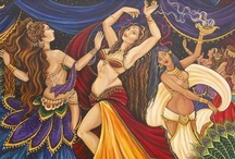 Belly Dance Paintings / Illustrations