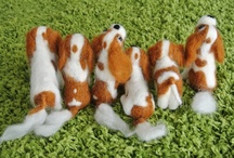 Needle felted dog / I am accepting orders for handmade needle felted dog. Please contact us by email. info@chiku-inu.com