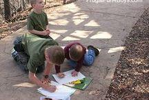 buurtwandelingen - naar buiten gaan - spijbelschool