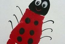 Arts & Crafts For Kids / Things to do with the kids during school holidays...