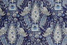 Patterns in nature and man made / Textiles, wallpaper, tapestry, heirloom, ornaments of different kinds