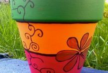 Handmade pots/jars/others / cute handmade stuff