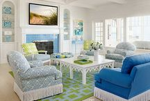 Great Living Rooms / Beautiful Interior Design I Love / by ADRIFT on Tybee
