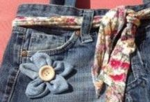 Blog riciclo / Mi piace riciclare le cose attendere nuove idee per trasformarle e dargli nuova vita soprattutto il jeans. Visita il mio blog riciclandoblog70@wordpress.com