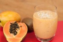 Healthy smoothies / Green, pink, red, dairy free smoothies for a great start to your day...