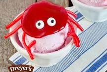 Dreyer's Summer Recipes / What do summer barbecues, 4th of July celebrations, heat waves and pool parties have in common? They all go great with ice cream! From Independence Day ideas to summer sundaes and every red, white and blue recipe in between, these frozen treats are inspired by ice cream's favorite season. / by Dreyers Ice Cream