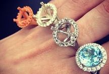 Palloys Rings / Take a look at our rings in action. From the colourful to the simple. These rings are all one of a kind.